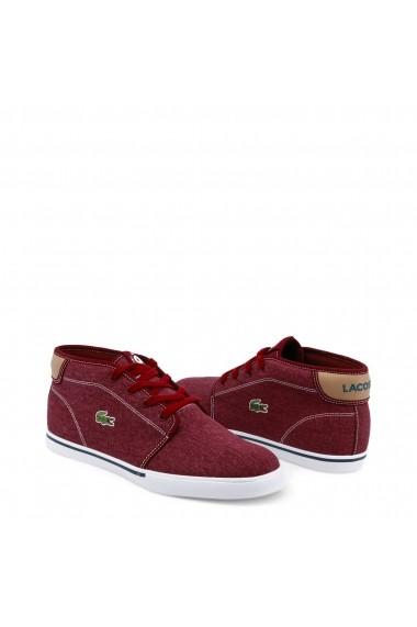 Pantofi sport Lacoste 735CAM0001_AMPTHILL_DKRED