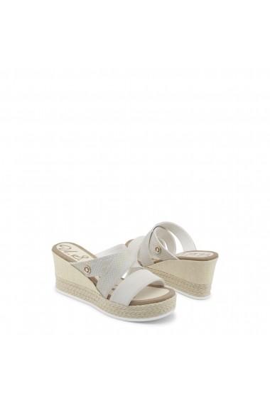 Sandale cu toc U.S. Polo ASSN. DONET4155S8_Y2_BEI-GOLD