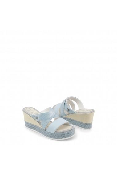 Sandale cu toc U.S. Polo ASSN. DONET4155S8_Y2_SKY-SIL