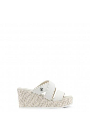 Sandale cu toc U.S. Polo ASSN. DONET4155S8_Y4_WHI