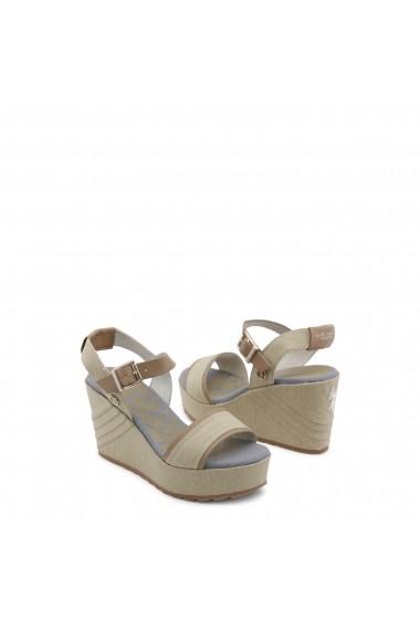 Sandale cu toc U.S. Polo ASSN. FEDRA4088S8 C2 SAND - els