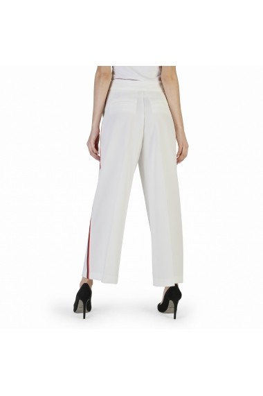 Pantaloni largi Imperial PUR6VFP 1140 LATTE alb