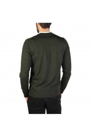 Pulover EMPORIO ARMANI S1E21M_S167M_550_VERDE-SCURO Verde