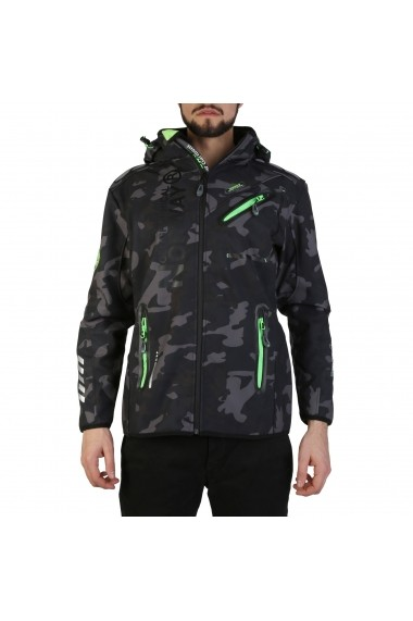 Jacheta Geographical Norway Royaute_man_black-green Negru