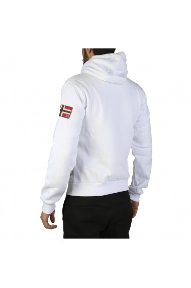 Pulover Geographical Norway Fitor_man_white Alb