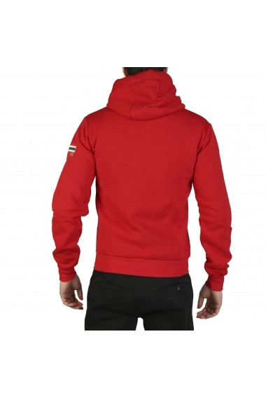 Pulover Geographical Norway Fitor_man_red Rosu