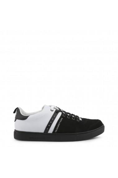 Pantofi sport Trussardi 77A00110_K308_BLACK-WHT Negru