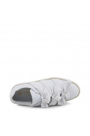 Pantofi sport Trussardi 79A00230_W002_NATURAL Alb