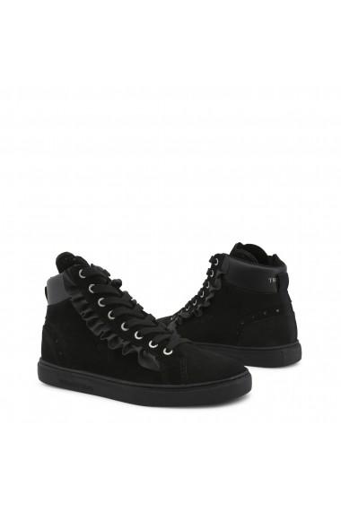 Pantofi sport Trussardi 79A00242_K299_BLACK Negru