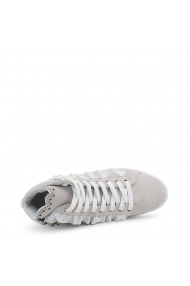 Pantofi sport Trussardi 79A00242_W001_WHITE Alb