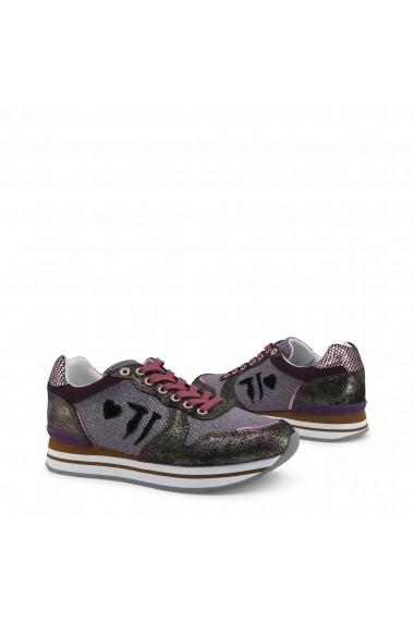 Pantofi sport Trussardi 79A00245_M200_DKROSE Violet