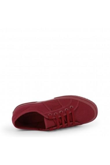 Pantofi sport Superga 2750-COTU-CLASSIC_S000010-F52_DK-BORDEAUX Rosu