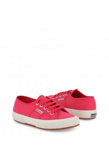 Pantofi sport Superga 2750-COTU-CLASSIC_S000010-P34_RED-AZALEA Roz