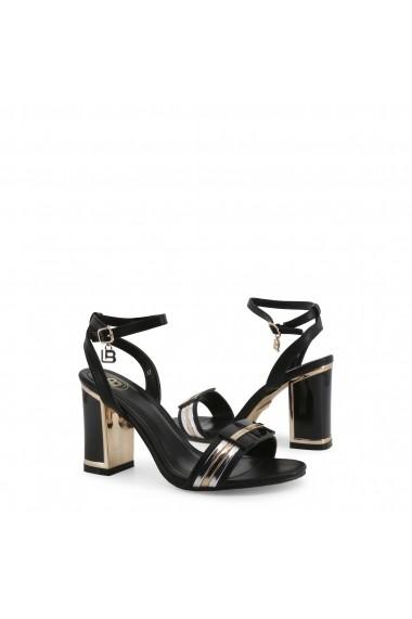 Sandale cu toc Laura Biagiotti 5519_CALF_BLACK Negru