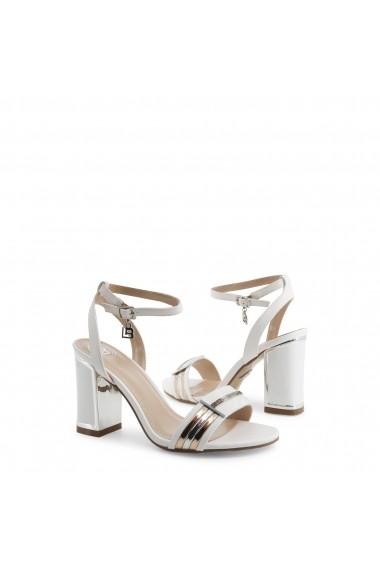 Sandale cu toc Laura Biagiotti 5519_CALF_WHITE
