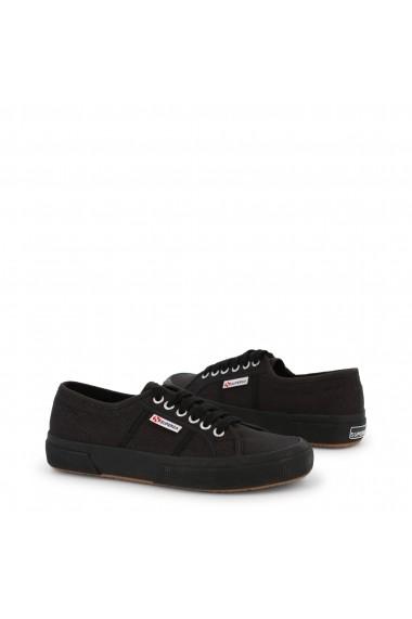 Pantofi sport Superga 2750-NAKEDCOTU_996_BLACK