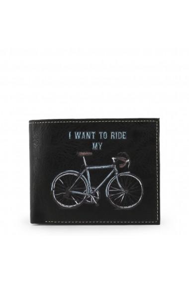 Portofel Carrera Jeans BICYCLE_CB532B_BLACK Negru