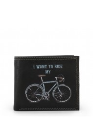Portofel Carrera Jeans BICYCLE_CB537B_BLACK Negru