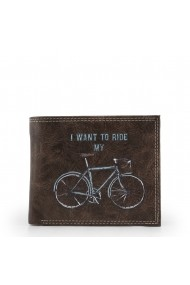 Portofel Carrera Jeans BICYCLE_CB537B_DARKBROWN Maro