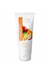 Masca peel-off, pentru toate tipurile de ten, cu acid glicolic si extract de fructe