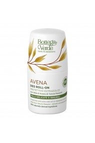 Deodorant roll-on, pentru piele delicata si sensibila, cu lapte de ovaz