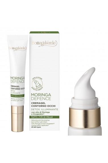 Crema pentru ochi, hidratanta si detoxifianta, pentru toate tipurile de ten, cu ulei de Moringa si Oxygeskin