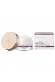 Crema de fata, efect filler, cu acid hialuronic si extract din flori albe, conceputa pentru toate tipurile de ten