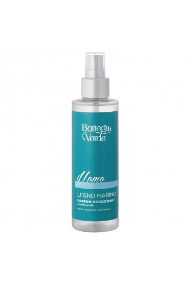 Parfum deodorant, hidratant, cu aroma lemnoasa