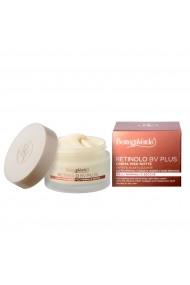 Crema anti-imbatranire de noapte ideala pentru ten normal si uscat cu Pro-Retinol colagen vegetal acid hialuronic extract de ginseng si vitaminele E si F