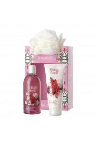 Set cadou femei, ingrijire corp cu extract de piper roz