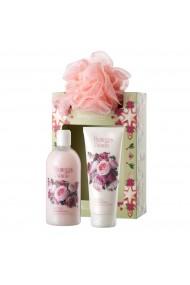 Set cadou femei, ingrijire corp cu aroma de trandafiri