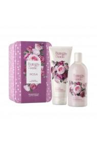 Set cadou femei, pentru ingrijirea corpului, elegant, cu apa de muguri de trandafiri