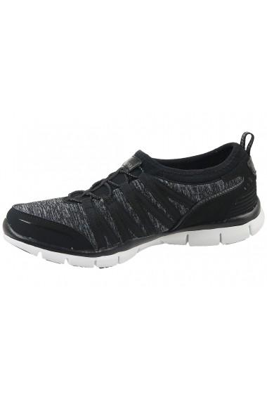 Pantofi sport pentru femei Skechers Gratis 22602-BKW