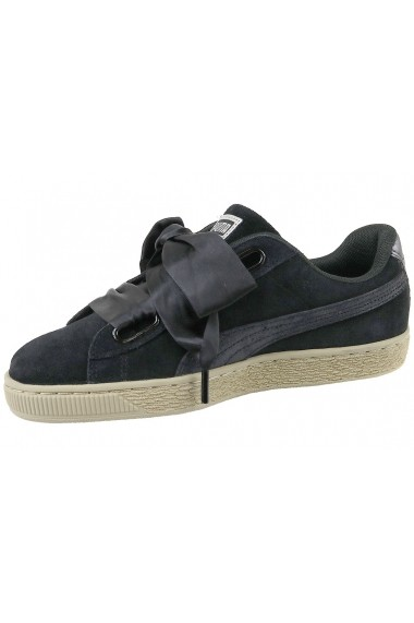 Pantofi sport Puma Basket Heart Metallic Safari 364083-03 negru