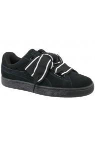 Pantofi sport Puma Suede Heart Satin II W 364084-01 negru