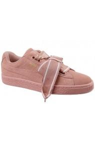 Спортни обувки Puma Suede Heart Satin II W 364084-03 розово