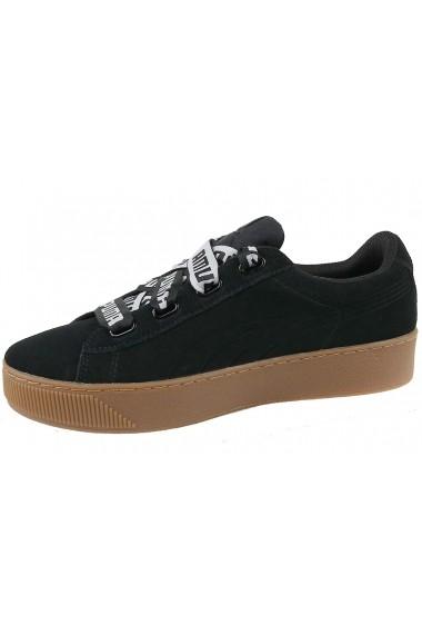 Pantofi sport Puma Vikky Platform Ribbon Bold 365314-01 negru