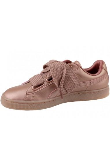 Pantofi sport Puma Basket Heart Copper 365463-01 roz