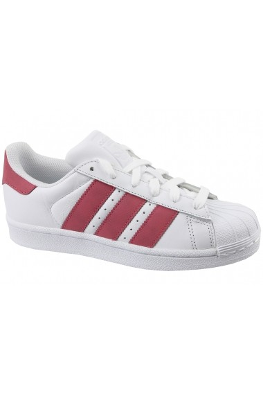 Pantofi sport Adidas Superstar J CQ2690 alb