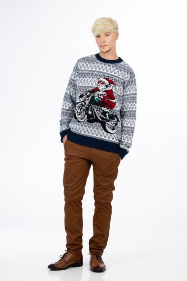 Pulover barbati model Christmas, BE YOU
