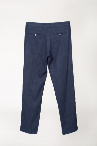 Pantaloni bleumarin din in BE YOU