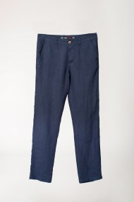 Pantaloni bleumarin din in BE YOU