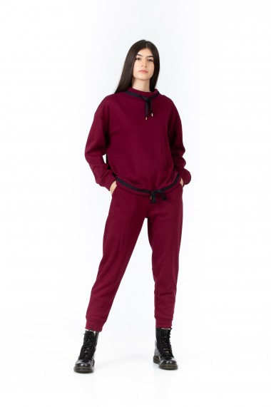 Trening burgundy, BE YOU