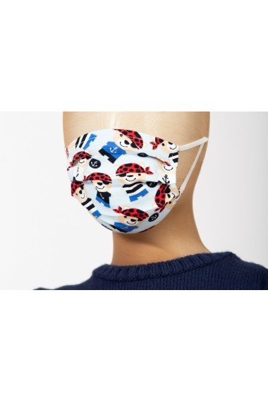 Masca de protectie, model pirati, pentru copii, BE YOU