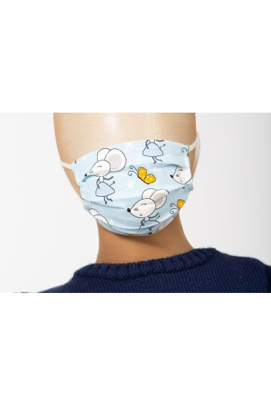 Masca de protectie, model soricei, pentru copii