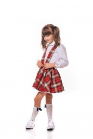 Fusta School dress by Iohanica in carouri Rosie