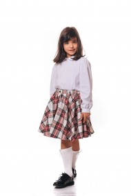 Fusta School skirt in carouri Rosie