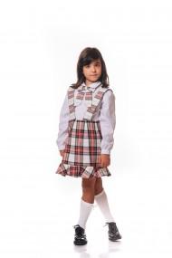 Compleu School dress by Ilinca in carouri