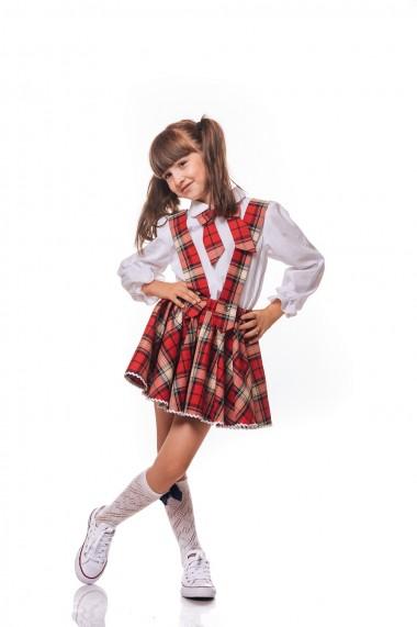 Compleu School dress by Elisa in carouri