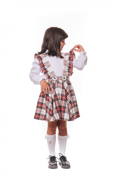 Fusta School dress By Iohana in carouri